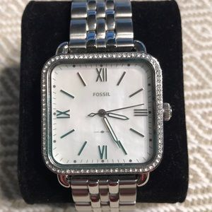 Fossil Women's Micah Mother of Pearl Watch